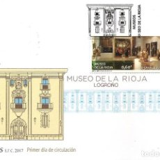 Sellos: ESPAÑA 2017. SPD O SELLO MATADO. MUSEO DE LA RIOJA. EDIFIL Nº 5134. Lote 155666546