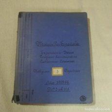 Sellos: ALBUM 111 SOBRES CON SELLOS Y MATASELLOS ESPECIALES.AÑOS1955-56.BIEN DETALLADO.. Lote 155867802