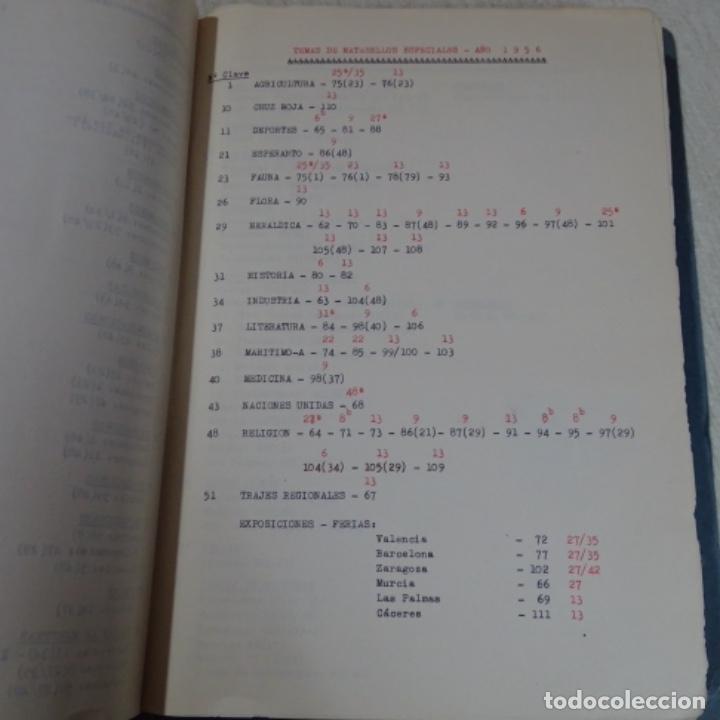 Sellos: Album 111 sobres con sellos y matasellos especiales.años1955-56.bien detallado. - Foto 4 - 155867802