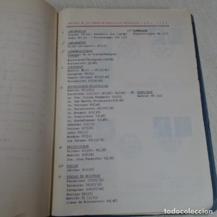 Sellos: Album 111 sobres con sellos y matasellos especiales.años1955-56.bien detallado. - Foto 5 - 155867802