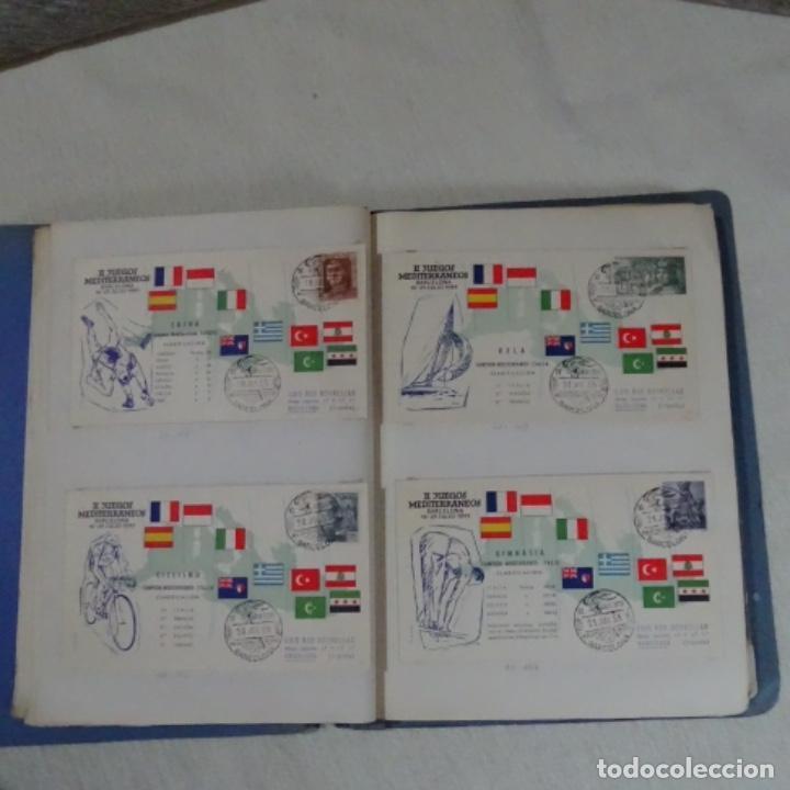Sellos: Album 111 sobres con sellos y matasellos especiales.años1955-56.bien detallado. - Foto 12 - 155867802