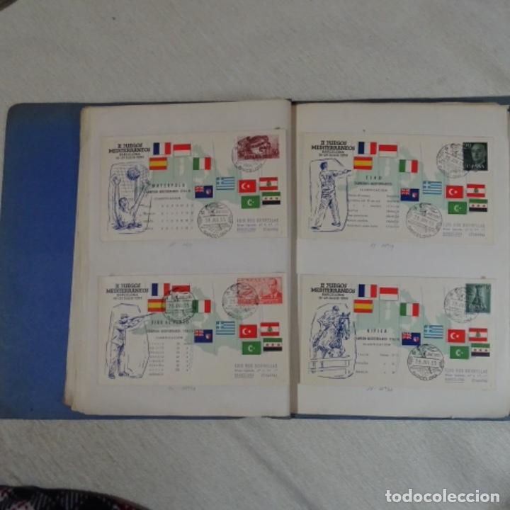 Sellos: Album 111 sobres con sellos y matasellos especiales.años1955-56.bien detallado. - Foto 15 - 155867802