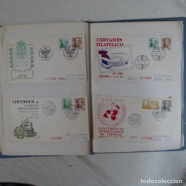 Sellos: Album 111 sobres con sellos y matasellos especiales.años1955-56.bien detallado. - Foto 19 - 155867802