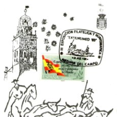 Sellos: TARJETA EXFILNUMED 1985. Lote 156109310