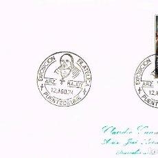 Sellos: AÑO 1974, PONTEDEUME (LA CORUÑA), ARZOBISPO RAJOY. Lote 156535290