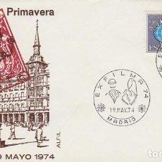 Sellos: AÑO 1974, MADRID, TRAJES TIPICOS, EXFILMA, EN SOBRE DE ALFIL. Lote 156543198