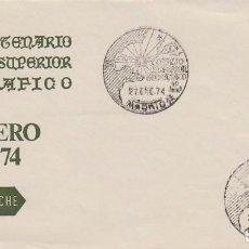 Sellos: AÑO 1974, MADRID, 50 ANIVERSARIO DRL CONSEJO SUPERIOR GEOGRÁFICO, SOBRE DE ROCHE. Lote 156544958