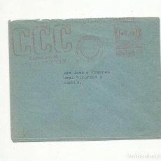 Sellos: CIRCULADA 1956 DE SAN SEBASTIAN A MADRID CON FRANQUEO MECANICO PRIVADO CCC CURSOS X CORRESPONDENCIA. Lote 156994982