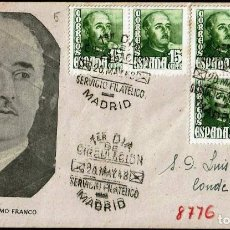 Sellos: SPD ESPAÑA 1948 - GENERAL FRANCO, EDIFIL 1021. Lote 158445882