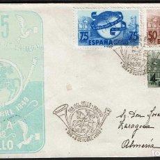 Sellos: SPD ESPAÑA 1949 - LXXV ANIV. U.P.U., EDIFIL 1063/1065. Lote 158449738