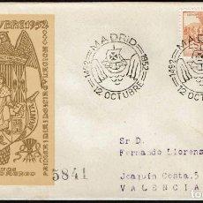 Sellos: SPD ESPAÑA 1952 - V CENT. NAC. FERNANDO EL CATOLICO, EDIFIL 1112. Lote 158589802