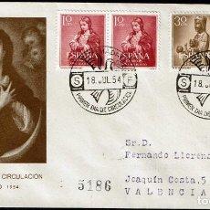 Sellos: SPD ESPAÑA 1954 - AÑO MARIANO. Lote 158592530