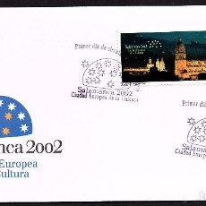 Sellos: SOBRE PRIMER DIA SALAMANCA 2.002 CIUDAD EUROPEA DE LA CULTURA. Lote 158634966