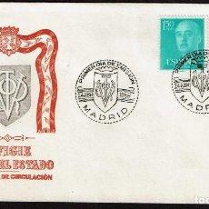 Sellos: SPD ESPAÑA 1956 - GENERAL FRANCO, EDIFIL 1154 Y 1155. Lote 158691270