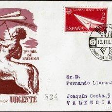 Sellos: SPD ESPAÑA 1956 - ALEGORÍAS. Lote 158696246