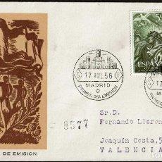 Sellos: SPD ESPAÑA 1956 - XX ANIV. ALZAMIENTO NACIONAL, EDIFIL 1187 Y 1188. Lote 158696478