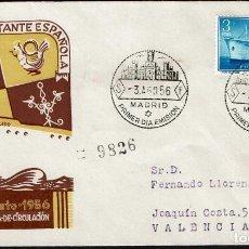 Sellos: SPD ESPAÑA 1956 - EXPOS. FLOTANTE BUQUE CIUDAD DE TOLEDO. Lote 158696618