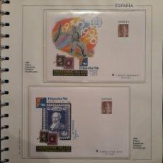 Selos: HOJA SOBRES ENTERO POSTAL ANIVERSARIO DE LA GUERRA ANIVERSARIO GOYA 1996. Lote 158828730