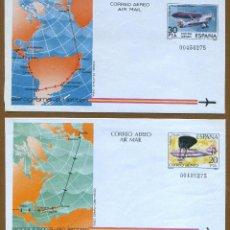 Sellos: 2 AEROGRAMAS - AIR 1982 EDIFIL 203/04. Lote 178593885