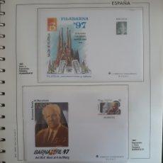 Selos: HOJA N°32 SOBRES ENTERO POSTALES 1997. Lote 159361029