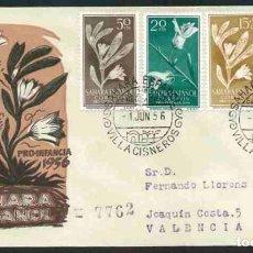 Sellos: SPD SAHARA ESPAÑOL 1956 - PRO INFANCIA. Lote 177851120