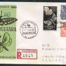Briefmarken - SPD SAHARA ESPAÑOL 1964 - PRO INFANCIA - 160673098