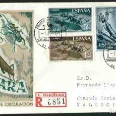 Briefmarken - SPD SAHARA ESPAÑOL 1965 - PRO INFANCIA - 160674286