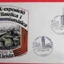 Sellos: ESPAÑA. SPD 1734 TURISMO: SEO ANTIGUA (LLEIDA). 1966. MATASELLO: X EXP. FILCA Y NUMISMÁTICA. 11-15 M. Lote 160922324