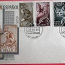 Sellos: SAHARA. SPD 176/79 DÍA DEL SELLO. FAUNA: LEOPARDO, FENNEC, ÁGUILA REAL Y LEOPARDO, ZORRO. 1960. MATA. Lote 160976981