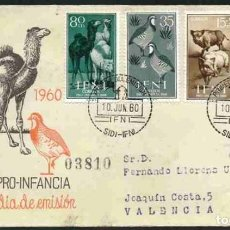 Sellos: SPD - IFNI 1960 : PRO INFANCIA. Lote 161258182