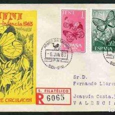 Sellos: SPD - IFNI 1963 : PRO INFANCIA. Lote 161260670