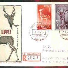 Sellos: SPD - IFNI 1964 - PRO INFANCIA. Lote 161261502