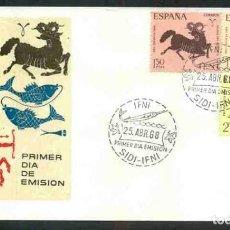 Sellos: SPD - IFNI 1968 : PRO INFANCIA. Lote 161263194