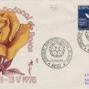 Sellos: 1975 REUS ( TARRAGONA ), XXVIII EXPOSICION CONCURSO ESCOLAR DE ROSAS - SOBRE ALFIL . Lote 161377082