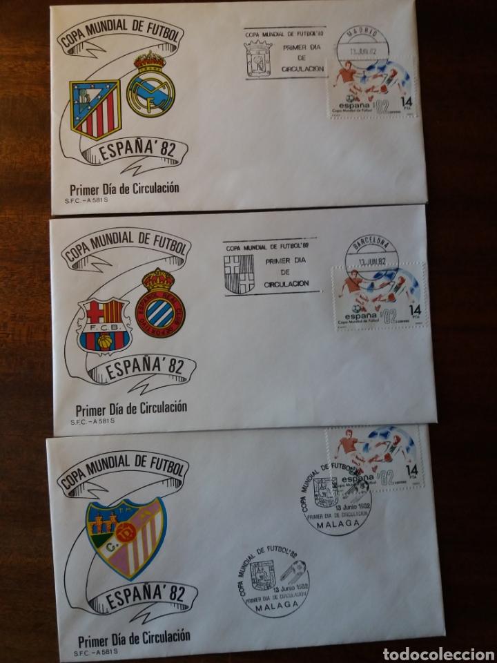 Sellos: España 82 copa mundial de fútbol - Foto 2 - 162457654