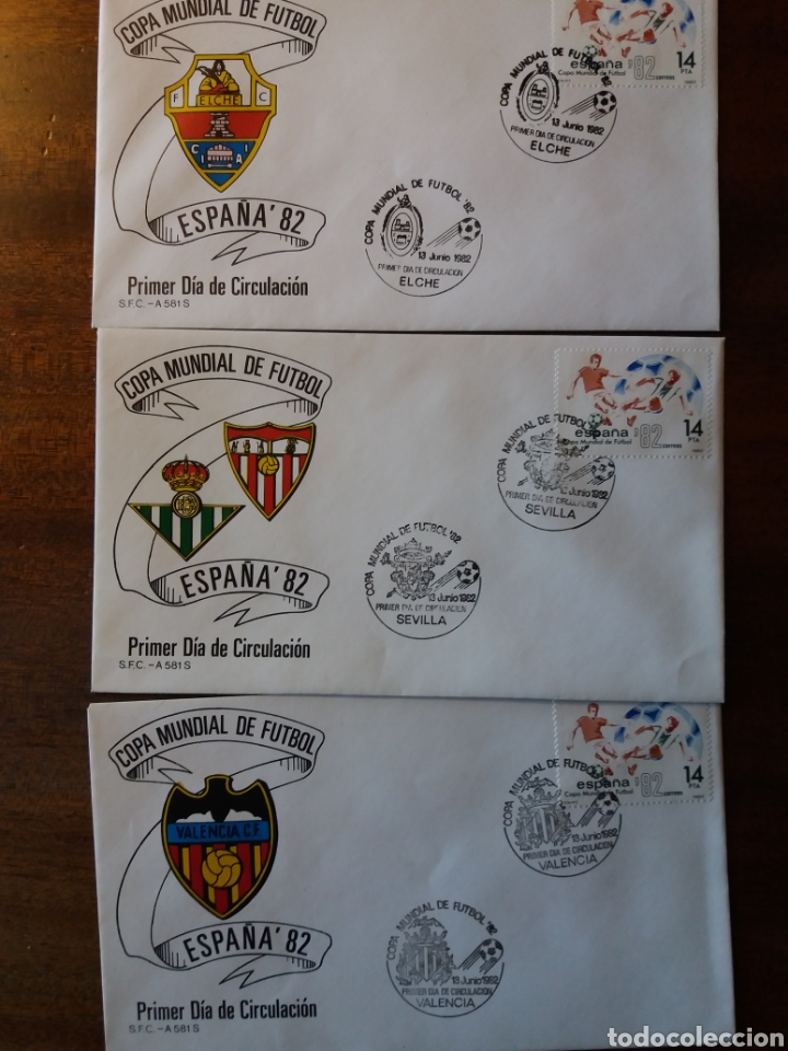 Sellos: España 82 copa mundial de fútbol - Foto 3 - 162457654