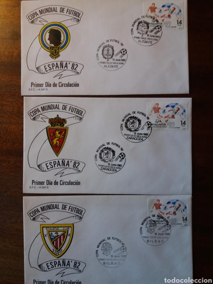 Sellos: España 82 copa mundial de fútbol - Foto 4 - 162457654
