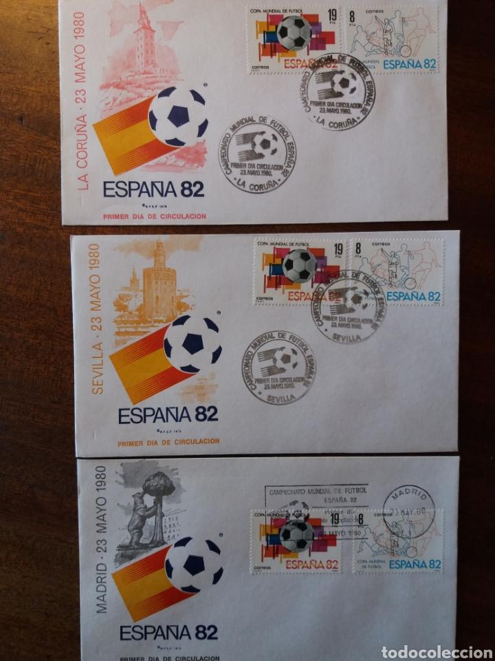 Sellos: España 82 copa mundial de fútbol - Foto 7 - 162457654