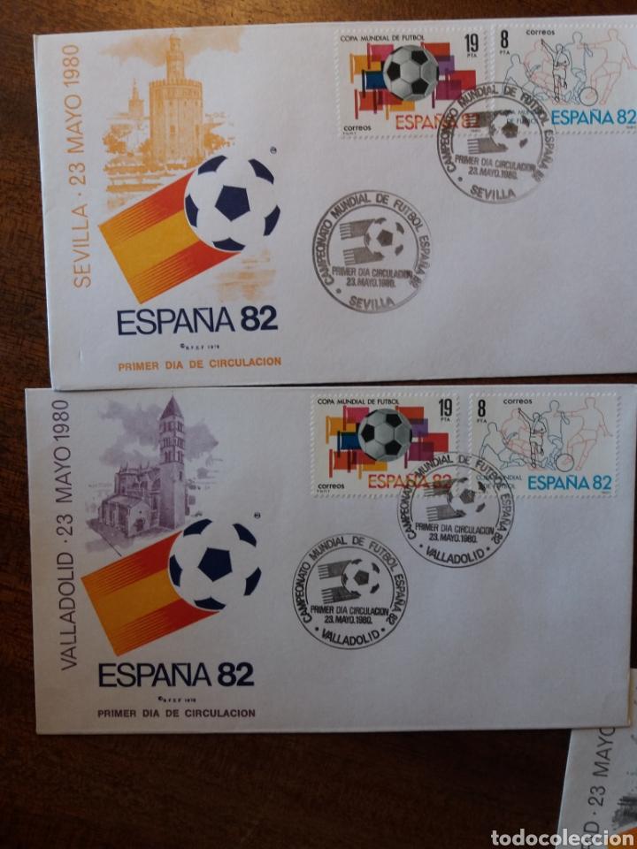 Sellos: España 82 copa mundial de fútbol - Foto 8 - 162457654