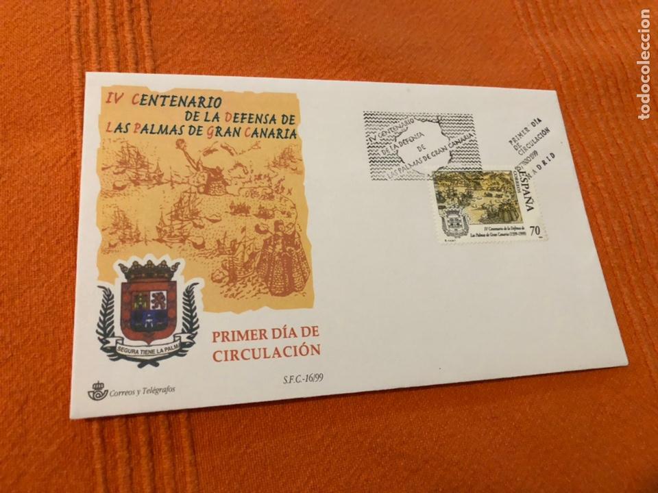 EDIFIL 3649 SPD (Sellos - Historia Postal - Sello Español - Sobres Primer Día y Matasellos Especiales)