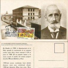 Sellos: ESPAÑA 2000 - TARJETA CON MATASELLOS CONMEMORATIVO PORTUGALETE. Lote 162975470