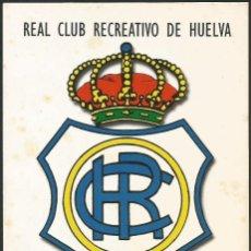 Sellos: ESPAÑA 1999 - TARJETA CON MATASELLOS CONMEMORATIVO RECREATIVO DE HUELVA #1. Lote 162976682
