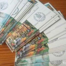 Sellos: 44 TARJETAS POSTALES CON MATASELLOS CONMEMORATIVOS DE TODA ESPAÑA. Lote 163383306