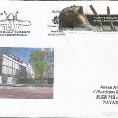 Sellos: MADRID SPD MUSEO DE BELLAS ARTES DE BILBAO PINTURA ESCULTURA. Lote 163768978