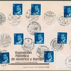 Sellos - 2 Sobres MATASELLOS ESPECIALES 1980 - ESPAMER 80 - 164469738