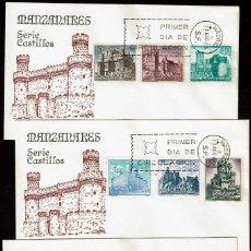 Briefmarken - SPD ESPAÑA 1966 - CASTILLOS DE ESPAÑA - 164776810