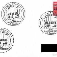 Sellos: ESPAÑA. MATASELLOS ESPECIAL. MILANOFIL 2019. Lote 164882778