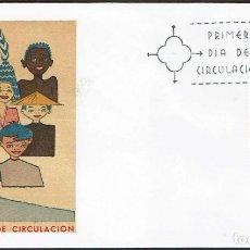 Sellos: SPD ESPAÑA 1971 - XXV ANIVERSARIO DE LA UNICEF. Lote 164899802