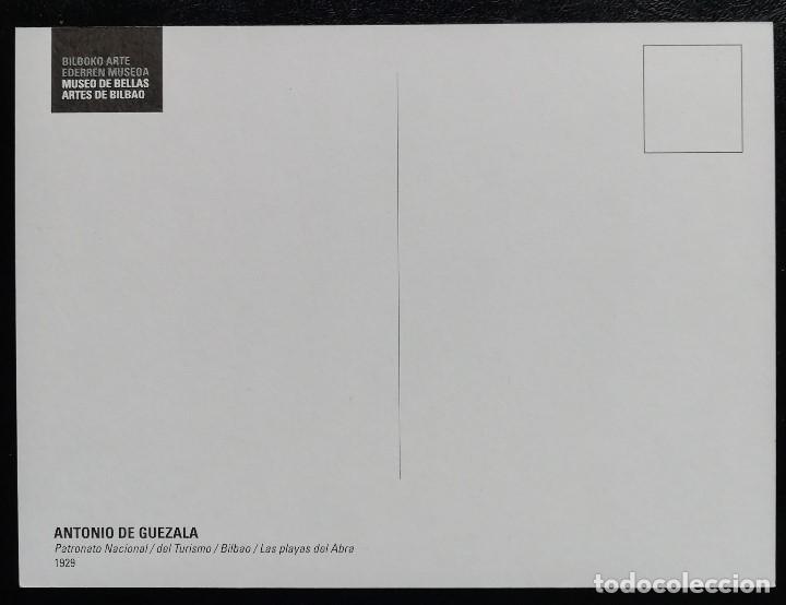 Sellos: 2014. Tarjeta. Museo Bellas Artes de Bilbao. Reproducción obra de 1929 de Antonio de Guezala. - Foto 2 - 165074170