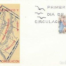 Francobolli: EDIFIL 2001, CENTº DEL INSTITUTO GEOGRAFICO CATASTRAL, PRIMER DIA DE 21-10-1970 SOBRE DEL SFC. Lote 165349346